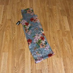"""Echo 100% silk scarf. NWT 10""""X58"""""""